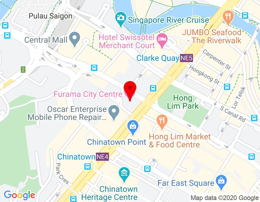 InsureAsia Pte Ltd Map